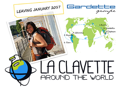 La clavette around the world : our new project