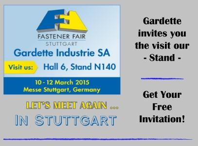 Stuttgart Fastener Fair 2015