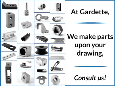 We Make Parts Upon Your Drawing!